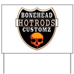 BHC HOTRODS Yard Sign