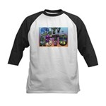 City of Auto Postcard Baseball Jersey