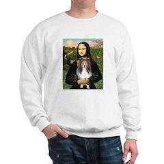 Mona Lisa's Sheltie (S) Sweatshirt