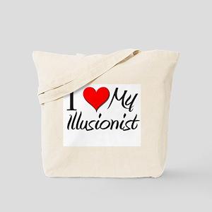 I Heart My Illusionist Tote Bag