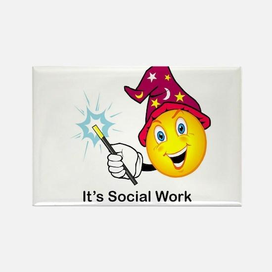 Social Work Magic Magnets