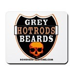 GREY BEARDs HOTRODS Mousepad