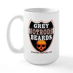 GREY BEARDs HOTRODS Large Mug