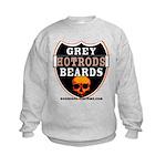 GREY BEARDs HOTRODS Kids Sweatshirt