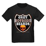 GREY BEARDs HOTRODS Kids Dark T-Shirt
