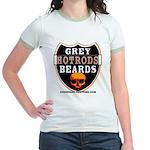 GREY BEARDs HOTRODS Jr. Ringer T-Shirt