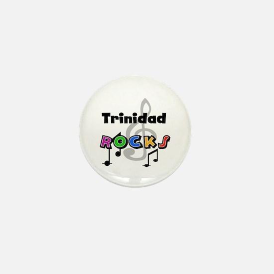 Trinidad Rocks Mini Button
