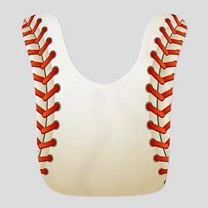 Baseball Ball Polyester Baby Bib