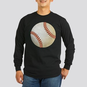 Baseball Ball Long Sleeve T-Shirt