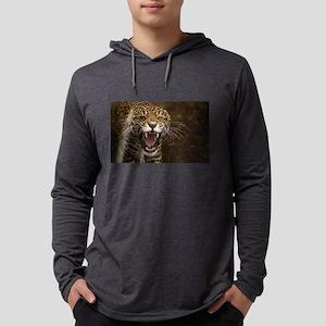 Growling Jaguar Long Sleeve T-Shirt