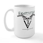 BONEHEAD V8 Large Mug