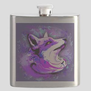 Purple Fox Spirit Flask