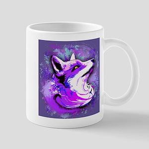Purple Fox Spirit Mugs