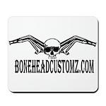 BONEHEAD HEADERS Mousepad