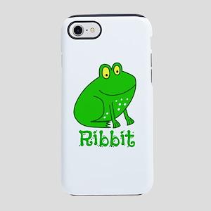 GREEN FROG RIBBIT iPhone 8/7 Tough Case