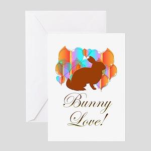 Bunny Love! Greeting Card