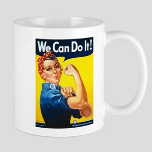 Rosie The Riveter-We Can Do It! Mugs