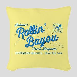 OUAT Rollin Bayou Woven Throw Pillow