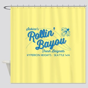 OUAT Rollin Bayou Shower Curtain