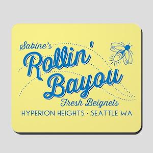 OUAT Rollin Bayou Mousepad