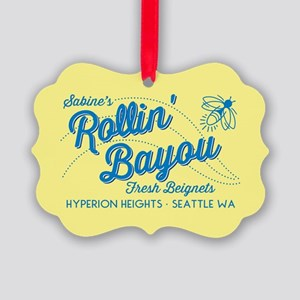 OUAT Rollin Bayou Picture Ornament