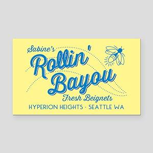 OUAT Rollin Bayou Rectangle Car Magnet