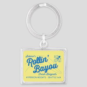 OUAT Rollin Bayou Landscape Keychain