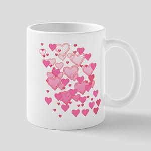 Sprinkle of Hearts Mug