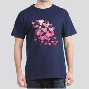 Sprinkle of Hearts Dark T-Shirt
