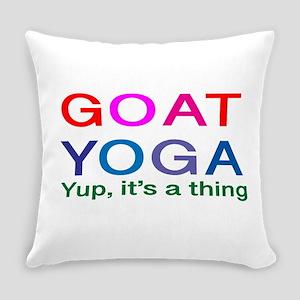 Goat Yoga Everyday Pillow