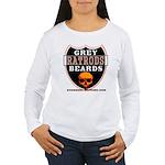 GREY BEARDS RATS Women's Long Sleeve T-Shirt