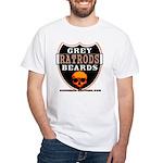 GREY BEARDS RATS White T-Shirt