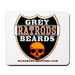 GREY BEARDS RATS Mousepad