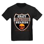 GREY BEARDS RATS Kids Dark T-Shirt