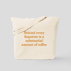 Reporter Tote Bag