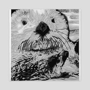 Sea Otter Queen Duvet