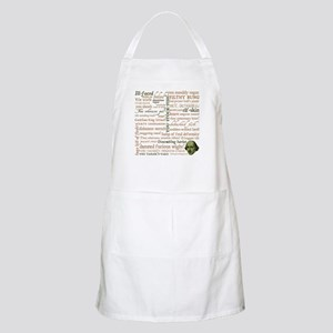 Shakespeare Insults Apron