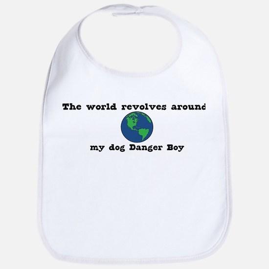 World Revolves Around Danger  Bib
