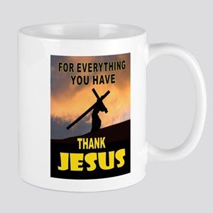 THANK YOU JESUS Mugs