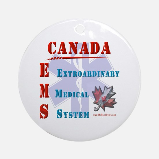 Canada EMS Shirts and Gifts Ornament (Round)