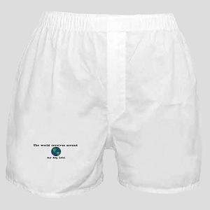 World Revolves Around Loki Boxer Shorts