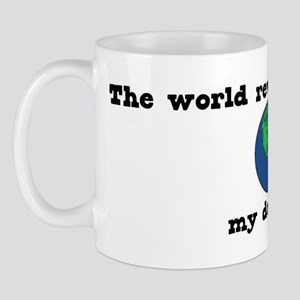 World Revolves Around Lily Mug