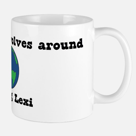World Revolves Around Lexi Mug