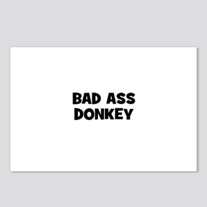 Bad Ass Donkey Postcards (Package of 8)