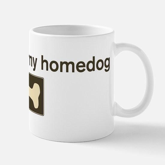 Buttercup is my homedog Mug