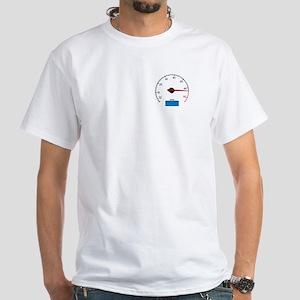 Mk4 Tachometer White T-Shirt