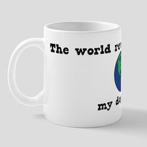 World Revolves Around Rocco Mug