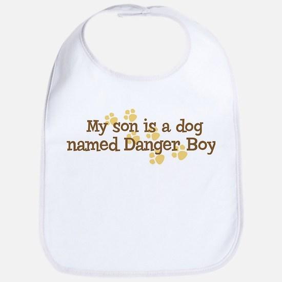 Son named Danger Boy Bib