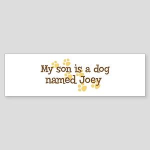 Son named Joey Bumper Sticker