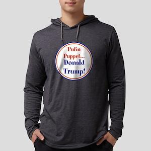 Putin Puppet, Donald Trump! Long Sleeve T-Shirt